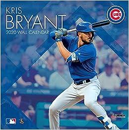 Cubs Calendar 2020 Chicago Cubs Kris Bryant 2020 Calendar: Inc. Lang Companies