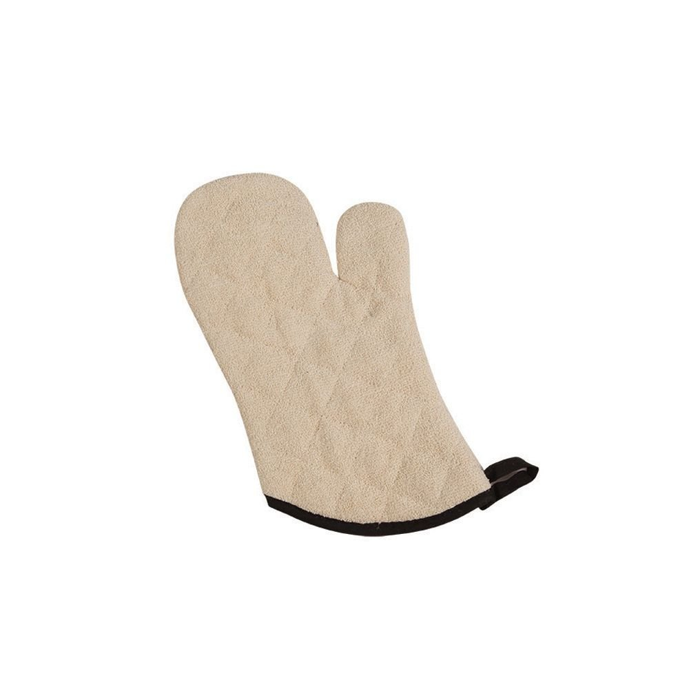 "San Jamar 813TM-SB Terry 13"" Oven Mitt with Steam Barrier - Pair"