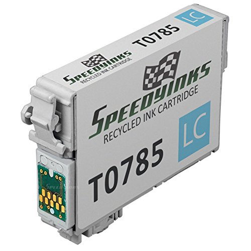 Speedy Inks - Remanufactured Light Cyan Ink for Epson 78 T078520 for use in Epson Stylus Photo RX580, Epson Stylus Photo R260, Epson Stylus Photo R380, Epson Stylus Photo R280, (Light Cyan)