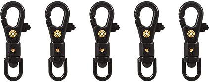 Multifunctional Carabiners Mini Biners Hook Camping Tool Clip 4Pcs 3mm Dia