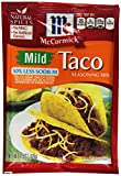 McCormick Taco, Mild Less Sodium Mix, 1.5-Ounce (Pack of 12) Review