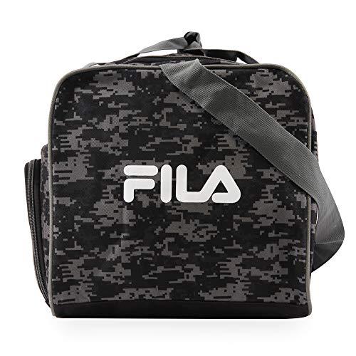 51QlSz%2BspFL - Fila Source Sm Travel Gym Sport Duffel Bag, Black Digi Camo