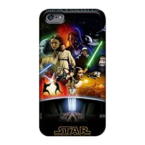 JoannaVennettilli Apple Iphone 6 Plus High Quality Hard Phone Cover Unique Design Beautiful Star Wars Anthology Skin [Aul7676guuQ]