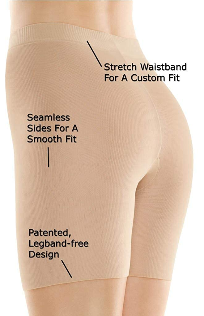 316e38e98a Assets Red Hot Label by Spanx Medium Control Mid-Thigh  Amazon.ca  Clothing    Accessories
