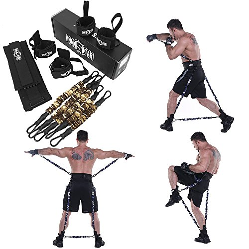 INNSTAR MMA Boxing Training Natural Latex Resistance Band Se