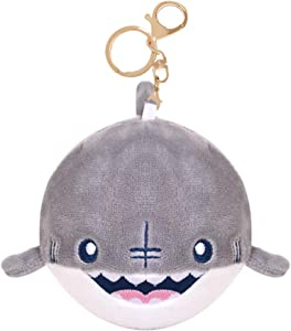 KEEJUNG Stuffed Shark, Baby Shark Keychain,Shark Plush Keychain for Kids and Adult, 4inch