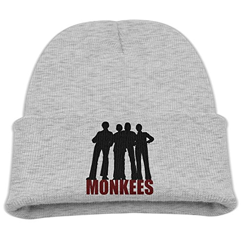 SHEAKA American Rock Band Baby's Knitted B-boyHat Ash For Autumn And Winter (Rock Milwaukee Brewers)