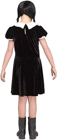 Horror-Shop Disfraz de niña gótica el miércoles XL: Amazon.es: Juguetes y juegos