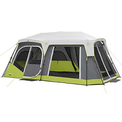 623a1be28a3 Amazon.com   CORE Two Room 12 Person Instant Cabin Tent with Side Entrance    Sports   Outdoors