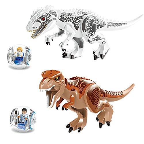 Tyrannosaurus Rex   Building Toys Mini Figures Bricks CZP 2-Piece (Rex Dinosaur)