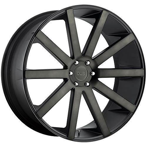 DUB Shot Calla MB -BLK MACH Wheel with Painted (22 x 9. inches /5 x 127 mm, 35 mm Offset)
