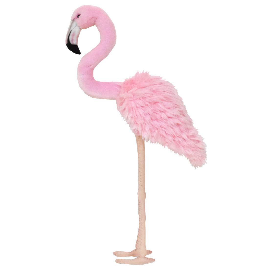 Large Hansa Flamingo Plush Pink 190404