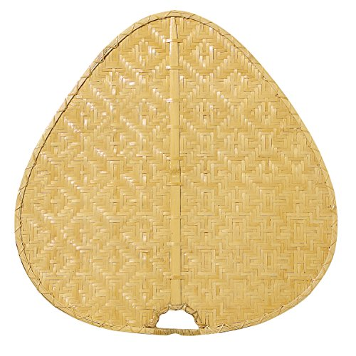 Fanimation PAD1C Wide Oval Bamboo Palisade Blade, 22-Inch, Clear, Set of 8