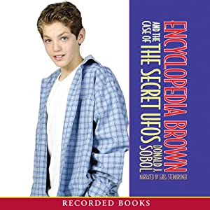 Encyclopedia Brown in the Case of the Secret UFO Audiobook