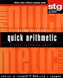 img - for Quick Arithmetic: A Self-Teaching Guide (Wiley Self-Teaching Guides) by Robert A Carman (2001-04-02) book / textbook / text book