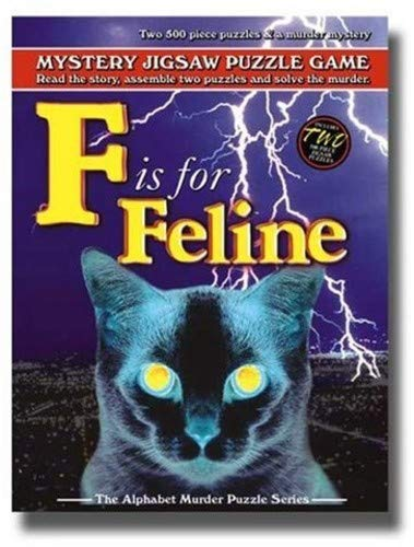 TDC Games Alphabet Mystery Puzzle - F is for Feline ()