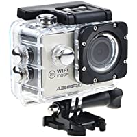ABLEGRID® AG4000 30-meter Waterproof 12MP 2.0 inch WIFI 1080P HD Sports Action Camera with 170° wide Angle Lens Silver