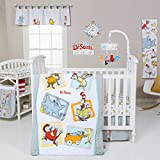 Trend Lab Dr. Seuss Friends 5 Piece Crib Bedding Set, Multi Reviews