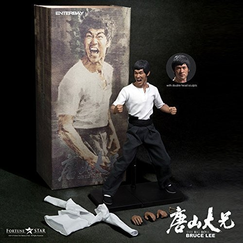Enterbay x Real Masterpiece (RM-1056) Bruce Lee - The Big Boss 1:6 Figure by Enterbay