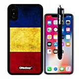 iphone X Case%2C Romanian National Flag