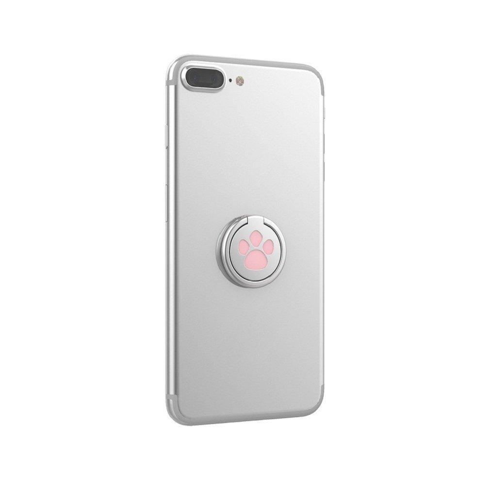 Ganenn Finger Ring Stand Holder, SUKEQ Amazing 360 Degree RotationFunny Cat Paw Finger Ring Stand Mobile Phone Holder for Smartphone (Pink) by Ganenn (Image #7)