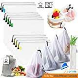 Kitchwise Reusable Grocery & Produce Bags Set of 12