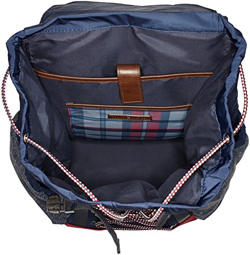 Tommy Hilfiger Herren Th Hiking Backpack Rucksack, Blau (Tommy Navy), 21x49x28.5 cm