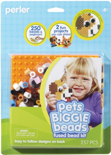 Perler Fused Bead Kit, Pets Biggie Beads