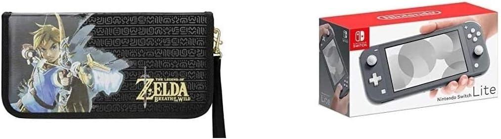 Nintendo Switch Lite - Consola + Funda Protectora Carrying Case Zelda, Gris: Amazon.es: Videojuegos