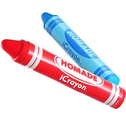 Thumbs Up UK iCrayon Digital Crayon Stylus - Styli - Retail Packaging - Blue