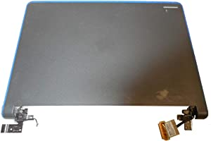 Laptop LCD Top Cover for DELL Chromebook 11 3120 P22T Blue Frame with Hinge 0FK2JJ FK2JJ Back Cover New and Original