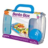 Sistema To Go Collection Bento Box for Lunch and Food Storage, Multicolor
