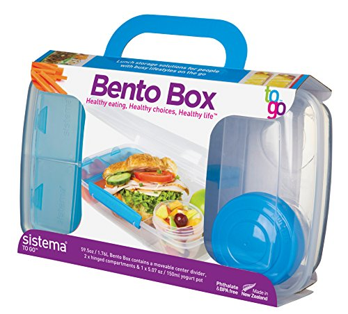 Amazon Sistema To Go Collection Bento Box For Lunch And Food Storage Multicolor Kitchen Dining