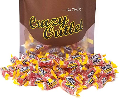 CrazyOutlet Pack - Jolly Rancher Cherry Hard Candy, Bulk Candy Pack, 2 lbs