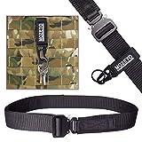 """MOZETO Tactical Belt Velco, 1.5"""" Military Nylon Web"""