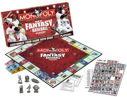 Fantasy Baseball Monopoly - Usaopoly My Fantasy Baseball Players Edition Monopoly