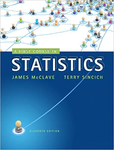 A First Course In Statistics 11th Edition