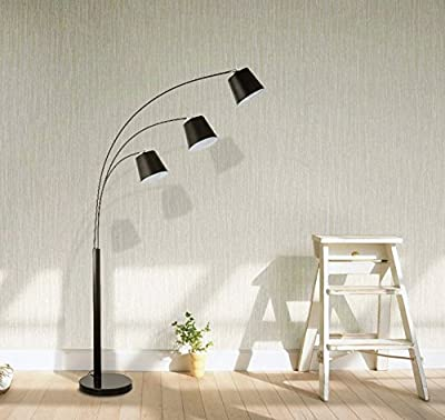Merax Arc Floor Lamp with Shade and Heavy-duty Base Floor Reading Lamp (Floor Lamp)