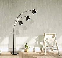 Merax Arc Floor Lamp with Shade and Heavy-duty Base Floor Reading Lamp (Floor Lamp)