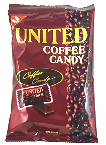 United Coffee Candy 4.94oz - 3 Bags of 4.94oz - Candies Coffee