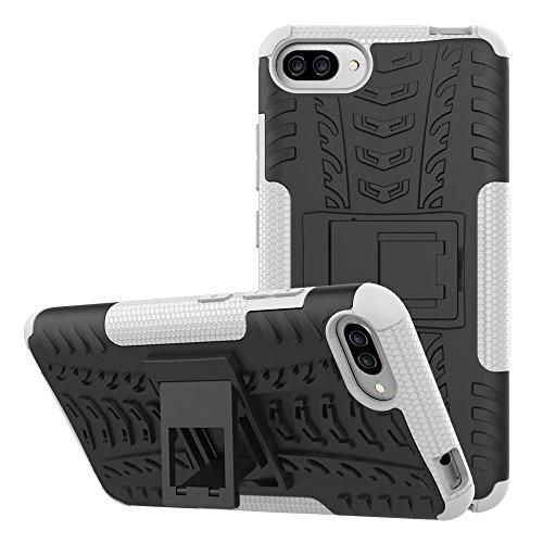OFU®Para Asus ZenFone 4 Max ZC520KL Smartphone, Híbrido caja de la armadura para el teléfono Asus ZenFone 4 Max ZC520KL resistente a prueba de golpes contra la lucha de viaje accesorios esenciales del blanco