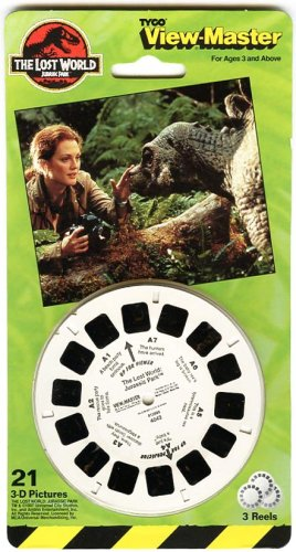 ViewMaster The Lost World Jurassic Park by View Master (Image #1)