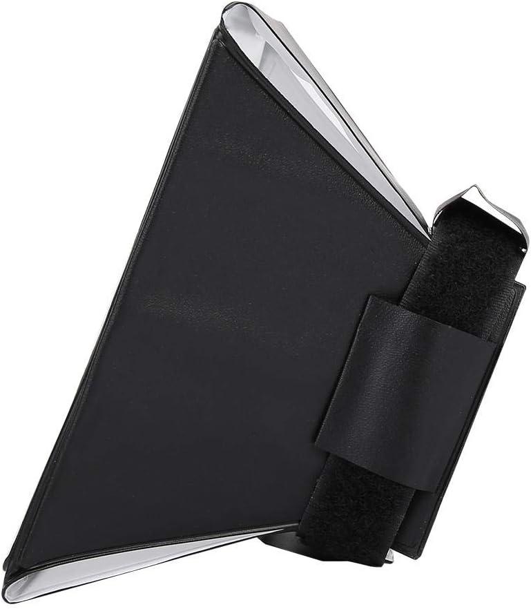 Oumij 12 Colors 5.12inch Foldable Mini Softbox Octagonal Speedlite Plastic Flash Light Softbox Suitable for External Camera Flash Light Small Spotlight Lampshade