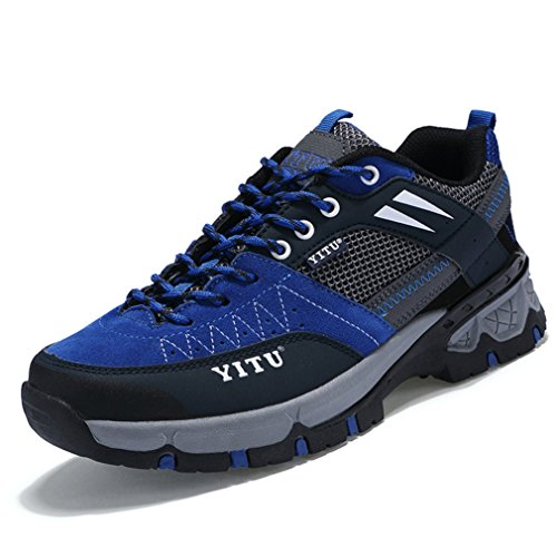 adulto de botas Unisex caño XIGUAFR Azul bajo 5Xvf4wqxq