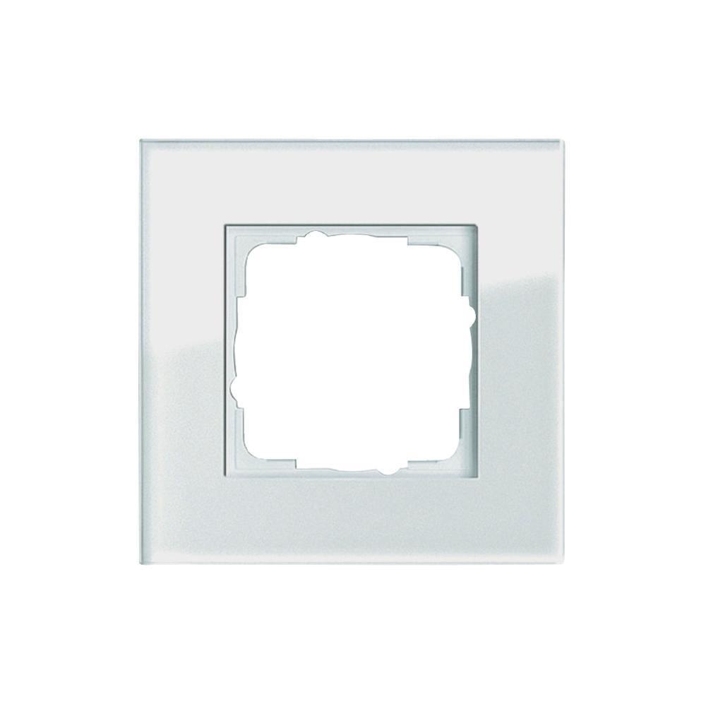 Gira 021112 021112 Rahmen 1-fach Esprit Glas, weiß: Amazon.de: Baumarkt
