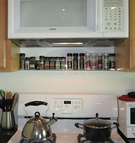 The Invisible Acrylic Spice Rack Strong Sturdy Space