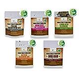 Low FODMAP Seasoning Set, Healthy Spices for the Paleo Diet, No Onion No Garlic Seasoning, Gluten-Free, All Natural Flavors - Casa de Sante (Starter 5 Pack, 1.25g Each)