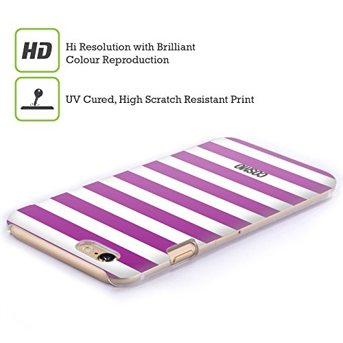 Official Cosmopolitan Violet Stripes Collection Hard Back Case for Apple iPhone 3G / 3GS