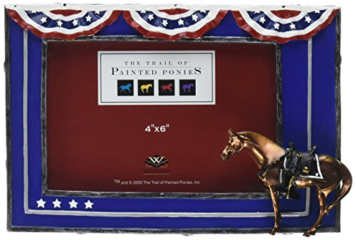 Martin Collection Picture Frames - Fallen Heroes Painted Pony Photo Frame