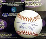 Jose Rijo autographed baseball (Cincinnati Reds World Series Champion) inscribed 1990 WS MVP AW Certificate of Authenticity Hologram OMLB